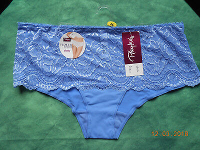 1 Culotte Playtex Shorty T 46 Bleu