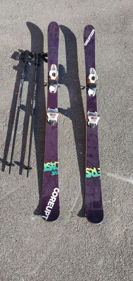 Twin-tip ski, Coreups, str. 171