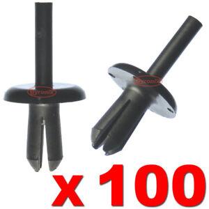100-DEFENDER-90-110-130-WHEEL-ARCH-MUD-SPAT-PUSH-RIVET-PLASTIC-CLIPS-LAND-ROVER