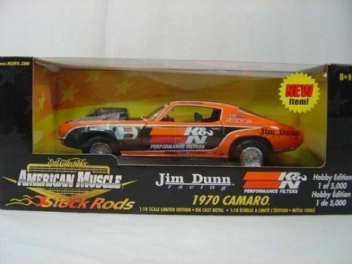 RARE Ertl - 1 18 1970 1 2  Drag Camaro   Jim Dunn Racing - 1 5000