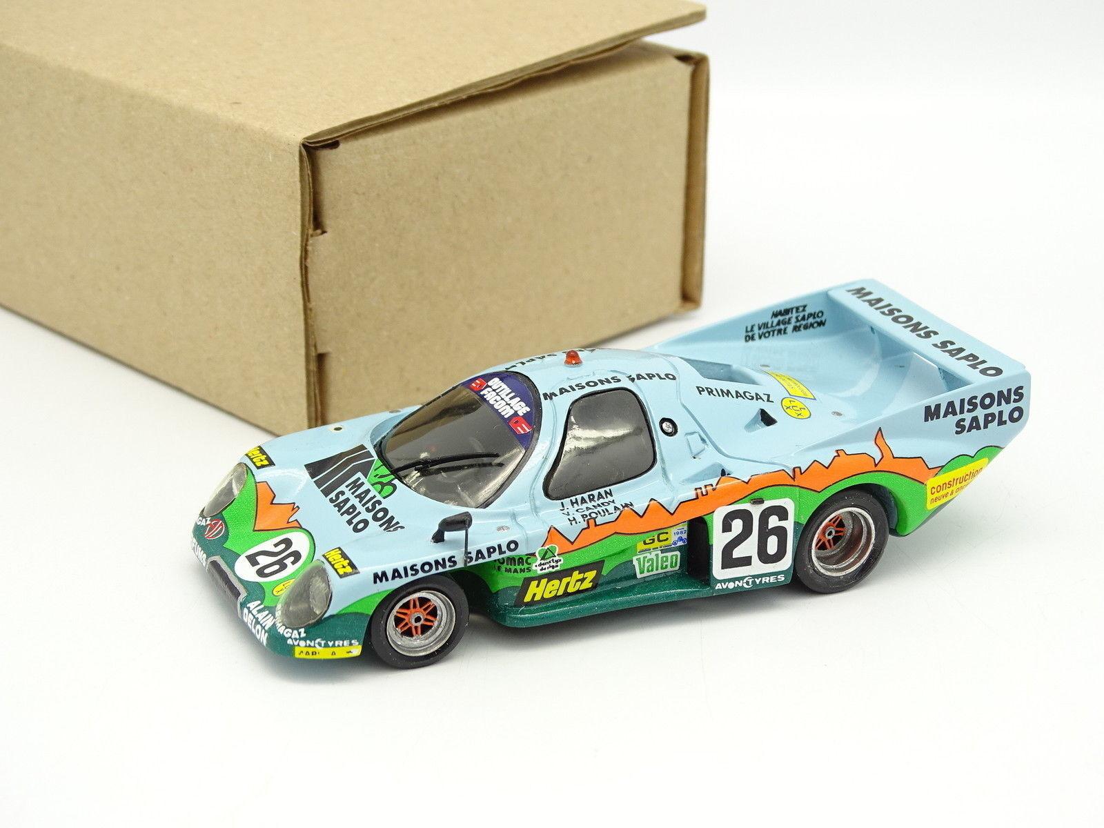 Team T Kit Monté SB 1 43 - Rondeau M379  Le Mans 1982 N°26