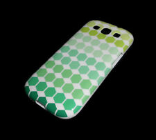 NEW GREEN DIAMOND SAMSUNG GALAXY S3 III SOFT PLASTIC CASE SUPER FAST SHIPPING