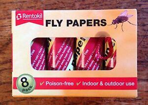 rentokil fliegen papiere innen au en verwendung f r k chen karawane zelte. Black Bedroom Furniture Sets. Home Design Ideas