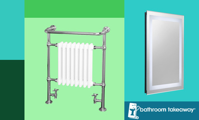 15% off Towel Rails & more