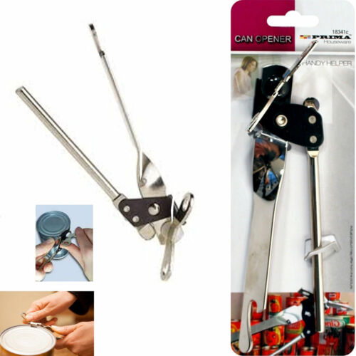 Tin Can Opener Butterfly Kitchen Gadget Steel Jar Foil Cutter Bottle Easy Grip