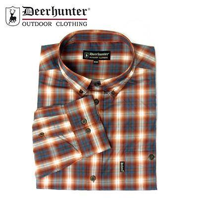 *Deerhunter Milton Shirt R10 Red//Blue Check Country Hunting Shooting