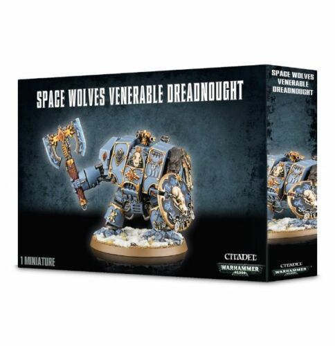 Warhammer 40K Space Lobos venerable Dreadnought 53-12