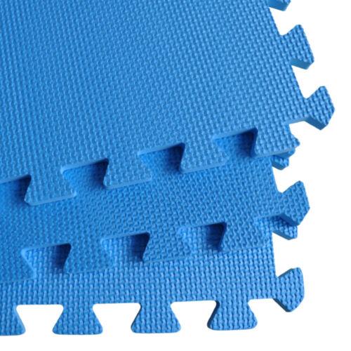 Trainingsmatte Bodenschutz Puzzlematte 2-8 m² Unterlegmatte Fliesen Matten EVA