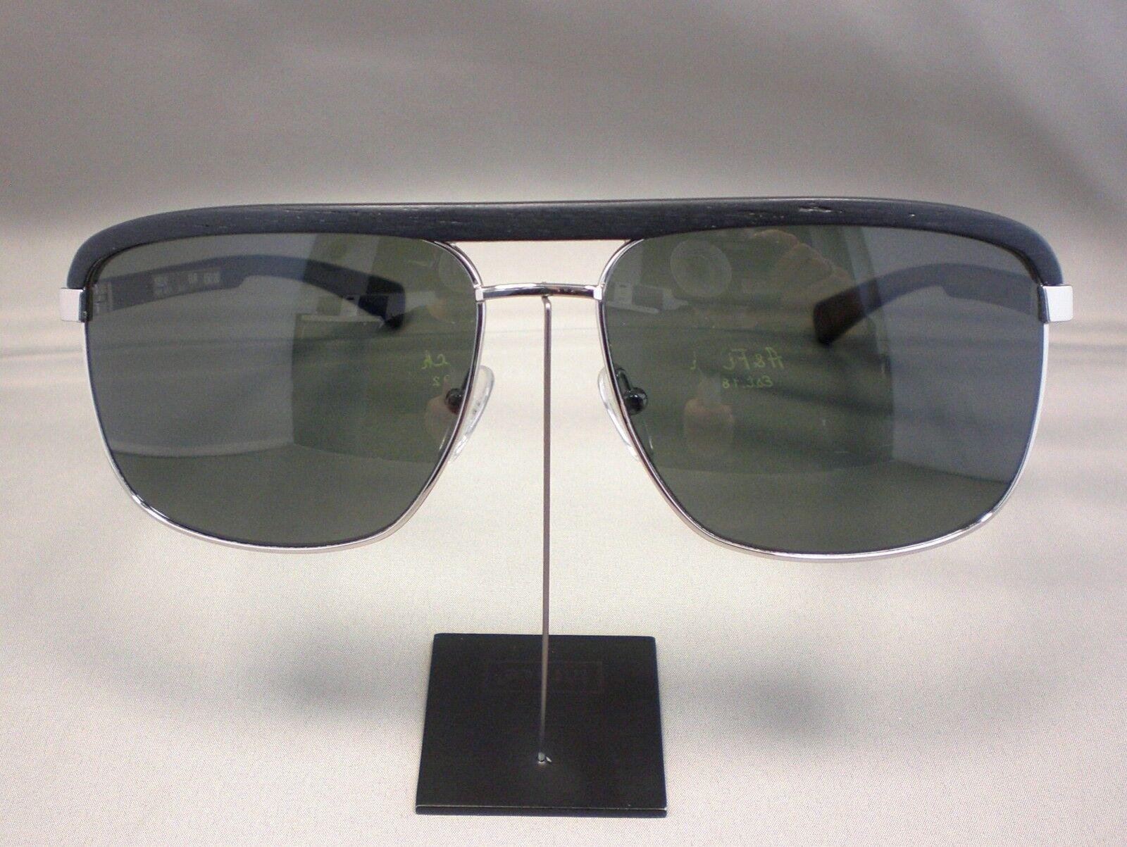 Original Gold&WOOD Sonnenbrille H31P Farbe 16 16 16 silber schwarz   | 2019  692bf4