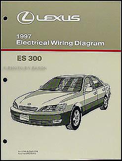 1997 Lexus ES 300 Wiring Diagram Manual OEM 97 ES300 Electrical Schematics    eBayeBay