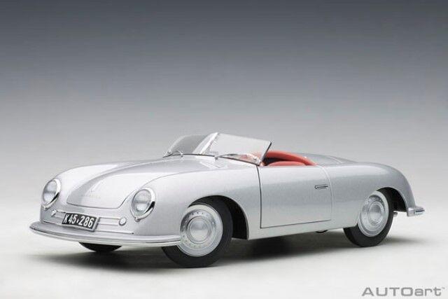 78072 Autoart 1 18 Porsche 356 No.1 Argent