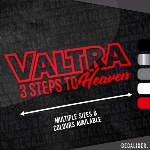 Valtra Contorno 3 pasos al cielo STICKER//DECAL-Varios Colores y Tamaños