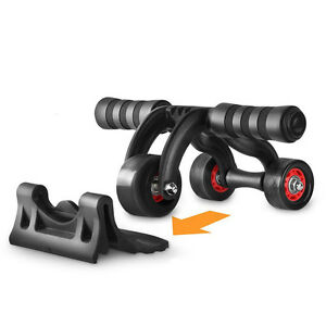 pro ab 3 wheel roller perfect fitness gym exerciser