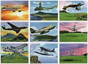2019 Topps Allen /& Ginter History of Flight Insert Set 15 Cards