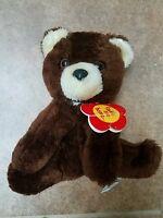 Vintage Daekor 10 Brown Teddy Bear Plush Stuffed Animal
