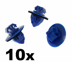 10x-Toyota-Land-Cruiser-Side-Moulding-amp-Wheel-Arch-Flare-Plastic-Trim-Clips