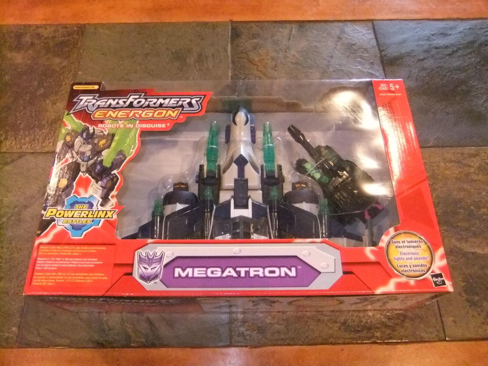 Transformers Action Figure Leader Class Energon Megatron 2003 Red version MISB
