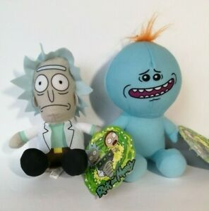 New Rick and Morty - Rick Mr. Meeseeks Set of 2 Licensed Plush Stuffed Toys