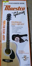*AS IS* Maestro by Gibson - 6-String Parlor-Size Acoustic Guitar + Gig Bag