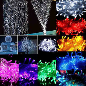 20-30-40-50-100-LED-String-Fairy-Lights-Battery-Operated-Party-Room-Decor-LS