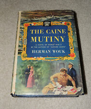 The Caine Mutiny, FIRST EDITION Book Club, Herman Wouk, Dust Cover, Nice!!!