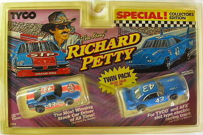 1992-93 TYCO RICHARD PETTY STP #43 Pontiac Grand Prix PUSH Slot Car SWEET !8910