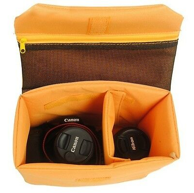 New Waterproof Insert Padded Camera DSLR Folding Divider Partition Protect Case