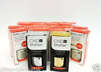 Cnd Creative Nail Shellac Gel Polish Pick Your Colors .25oz/7.3ml 6 Bottles