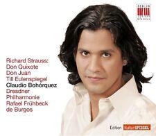 CLAUDIO BOHORQUEZ - DON QUIXOTE/DON JUAN/TILL EULENSPIEGEL  CD NEU