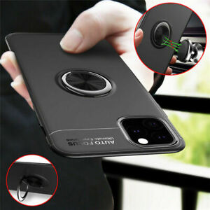 For-iPhone-11-Pro-Max-Magnetic-Car-Ring-Holder-TPU-Ultra-Slim-Case-Co-AL
