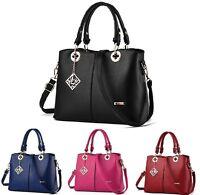 New Women Handbag Shoulder Bags Tote Purse PU Leather Messenger Hobo Bag Satchel