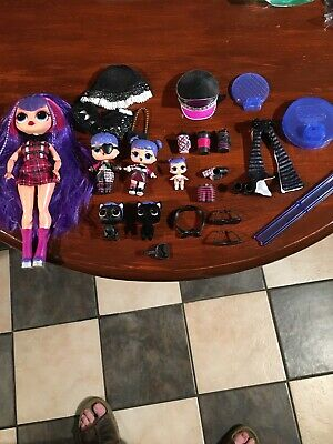 Lot 2 LOL Surprise Dolls LiL Midnight COSPLAY CLUB SERIES 2 /& Midnight Pup pet