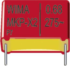 MKP-Folienkondensator radial bedrahtet 2. Wima MKP 10 2,2uF 5/% 400V RM27,5 1 St