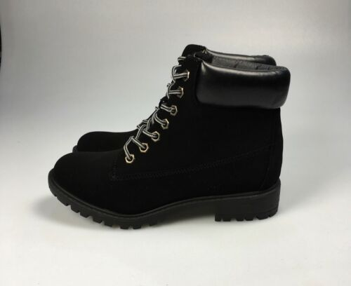 Lace Up Ankle Boots Black Brown Mustard Available Sizes UK 6 UK 7 #X1BC