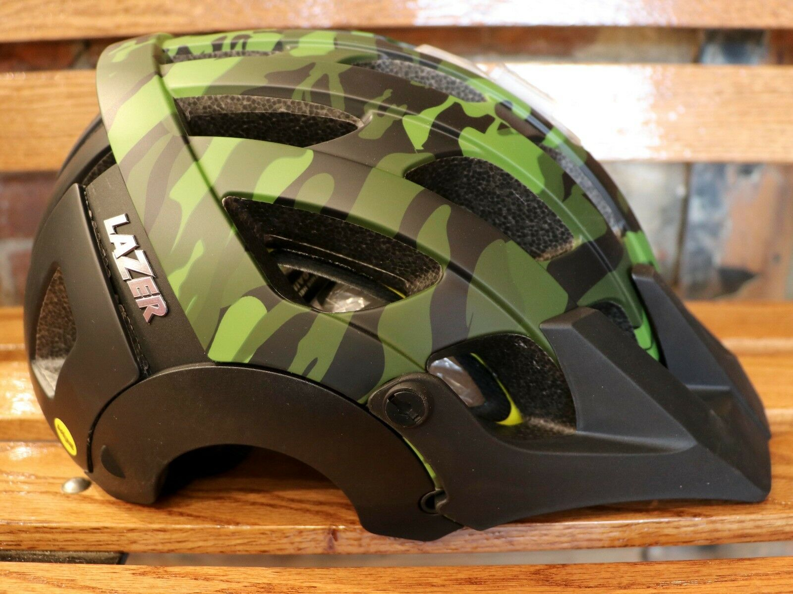 NEW Lazer Revolution MIPS Bike Helmet  – color  Camo   Size  Medium (55-59 cm.)  fitness retailer