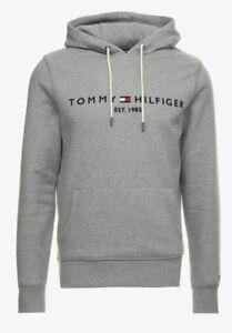 pull,Sweat à capuche Tommy Hilfiger gris