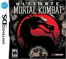 Ultimate Mortal Kombat  Nintendo DS 3DS New