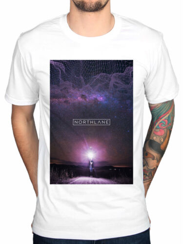 Official Northlane Day Dreamer T-Shirt Singularity Discoveries Metalcore Node