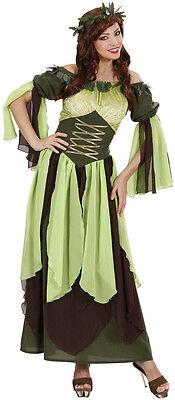 Waldfee Mutter Natur Kostüm  NEU Damen Karneval Fasching Verkleidung Kostüm