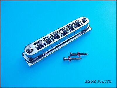 Use any ABR1 Type Bridge Teisco //Japanese Guitars Bridge Converter Kit