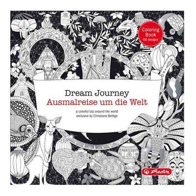 Herlitz Malbuch Ausmalbuch Erwachsene Ausmalreise um die Welt Dream Journey Neu