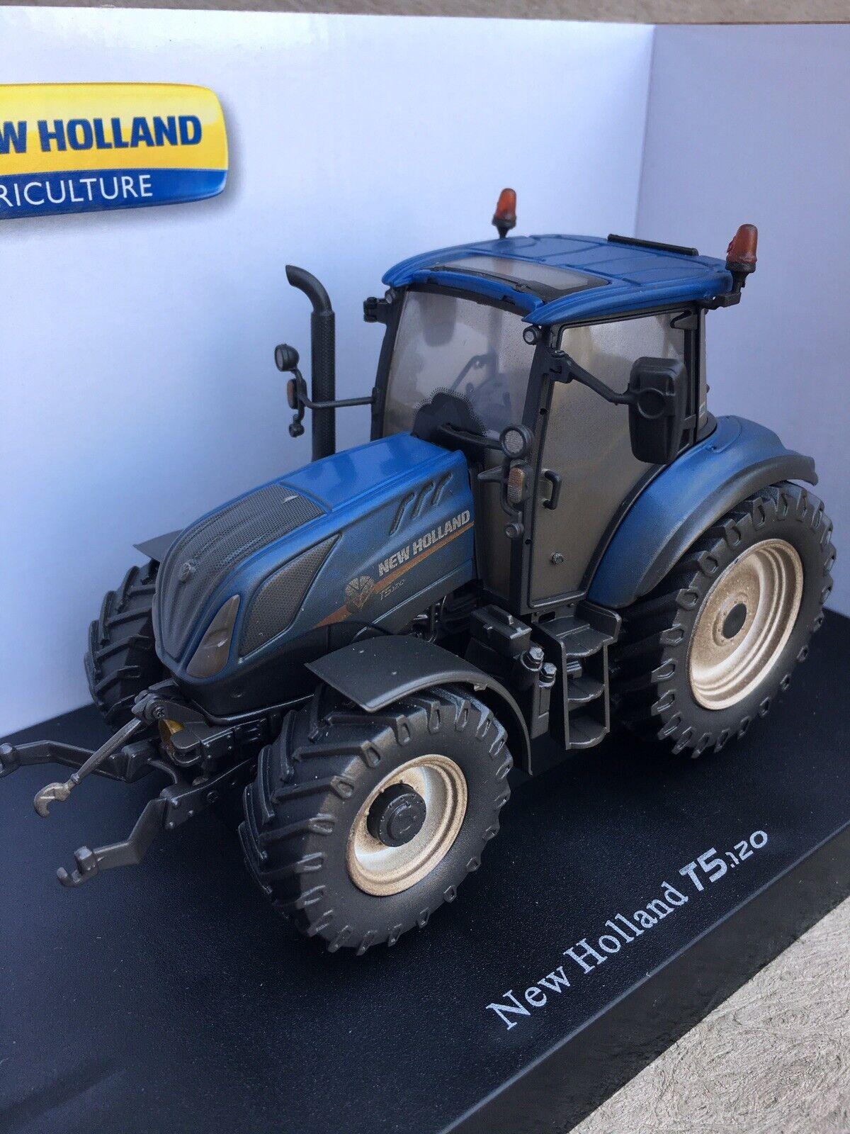 Dusty Weatherouge Universal Hobbies nouveau Holland T5.120 Tractor 1 32  Scale TRAKTOR  détaillant de fitness
