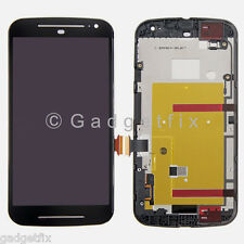 Motorola Moto G 2nd Gen XT1064 XT1068 LCD Display Touch Screen Digitizer + Frame
