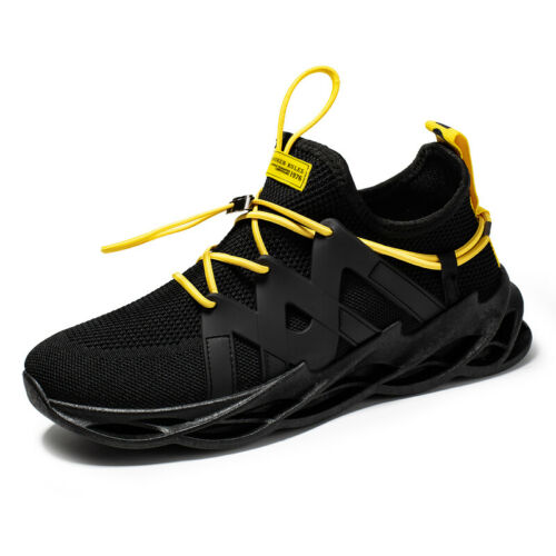Sneakers Mens Breathable Blade Running Shoes Athletic Fitness Gym Trainer Shoes