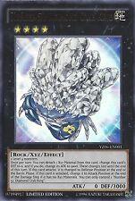 YU-GI-OH CARTA numero 52: DIAMOND GRANCHIO KING ULTRA RARA yz06-en001 LIMITED EDITION