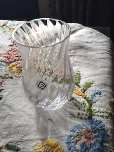Glass Dartington Glass Bud Vase