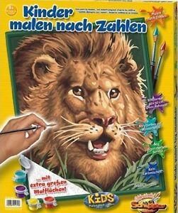 Details Zu Schipper Malen Nach Zahlen Kaildas Der Löwe 40 Cm X 50 Cm Ohne Mischen