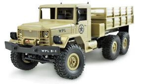RC-U-S-Militaer-Truck-6WD-1-16-sandfarben-2-4-GHz-RTR-mit-Akku-und-Ladegeraet