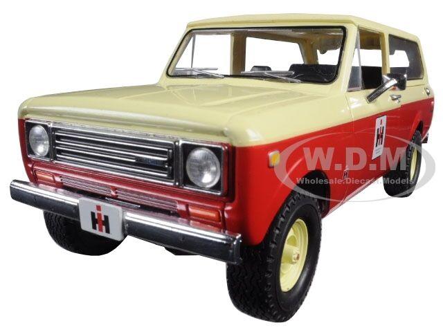 1979 International Scout Reisenden Lkw IH Händler Rot 1 25 von First Gear