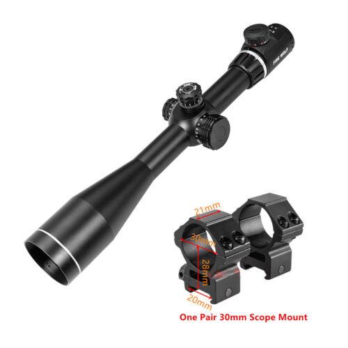 Tactical Rifle Scopes QZ 6-24X50 Z600 Side Parallax Optics Riflescope